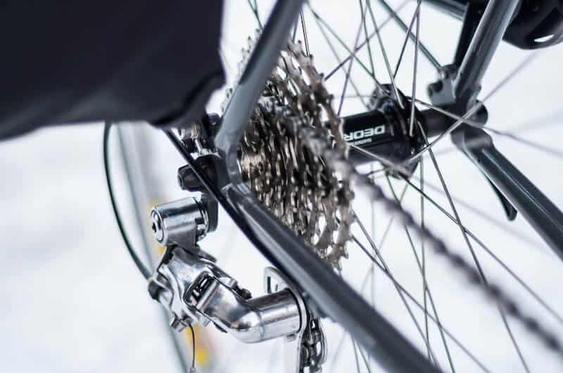 Rear Sprocket and Chain