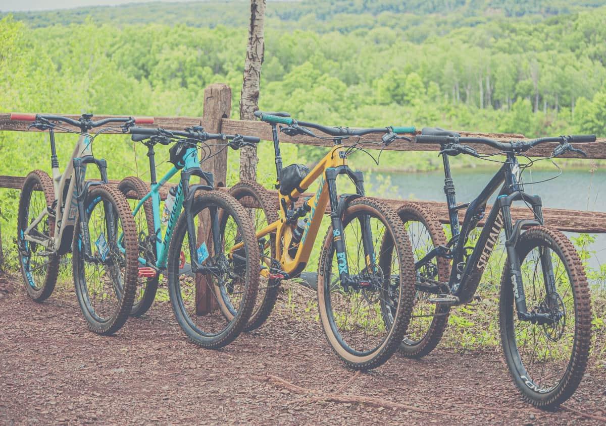 4 Hardtail Mountain Bikes