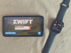 iPhone Zwift and Apple Watch